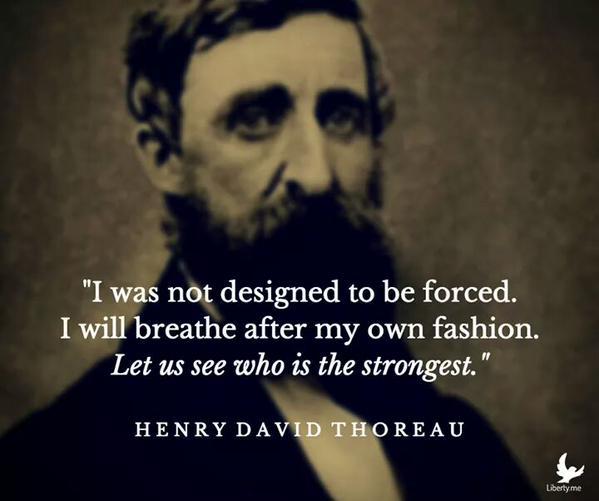 Thoreau Quotes: Violence Never Brings Permanent Peace